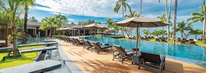 Pool des La Flora Khao Lak
