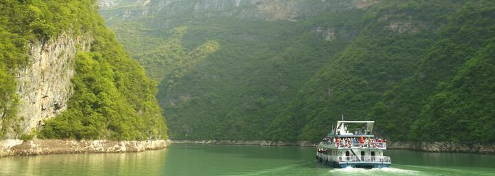Yangtze Kreuzfahrt China