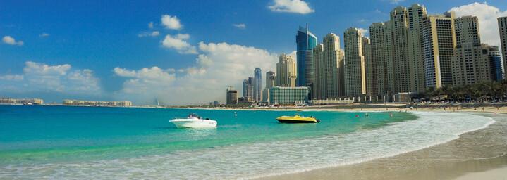 Dubai FIVE Palm Jumeirah Strand