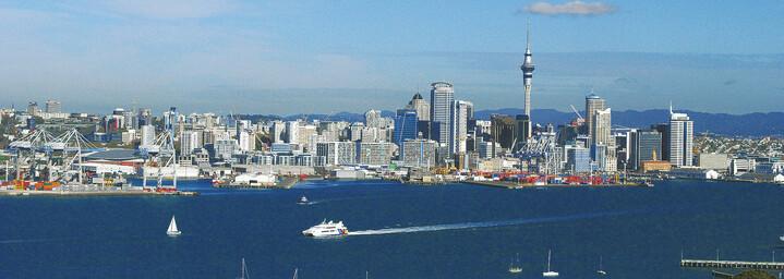 Auckland Neuseeland Skyline