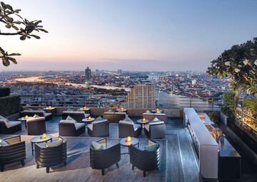 Sky Bar im Millennium Hilton Bangkok
