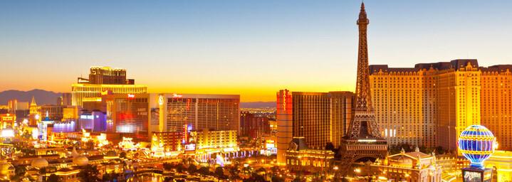 Las Vegas Glitzerstadt