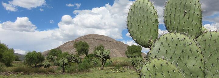 Ruinenanlage Teotihuacán