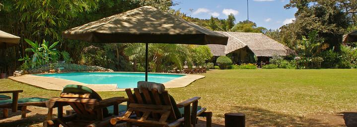 Beispiel Unterkunft : Moivaro Coffee Lodge Pool