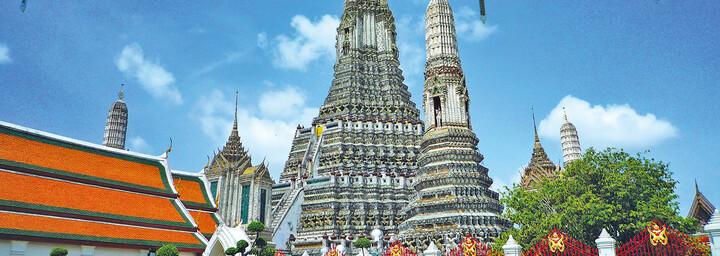 Außenansicht Wat Arun Bangkok