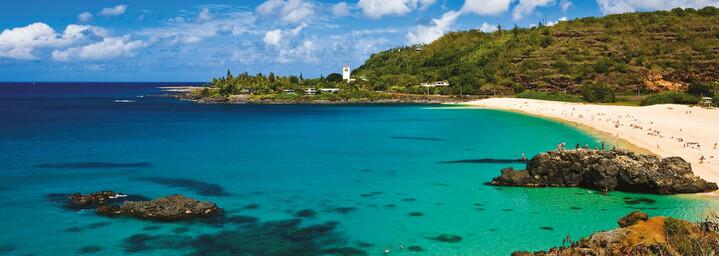 Waimea Bay an Oahu's North Shore