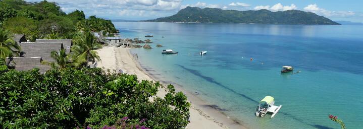 Madagaskar Reisebericht: Küste von Nosy Komba