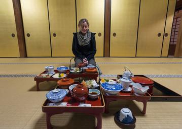 Reisebericht Japan: Traditionelles, japanisches Essen