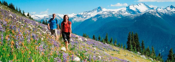 Wanderung in Whistler