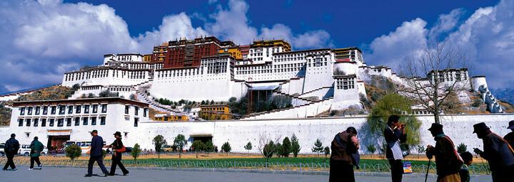 Lasa Potala Tibet