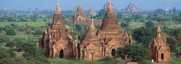 Historische Königsstadt Bagan