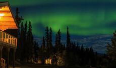 Nordlichter im Southern Lakes Resort