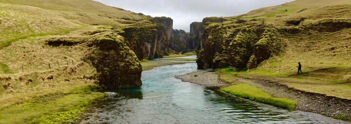 Landschaft im Süden Islands