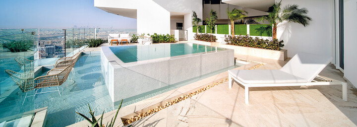 Penthouse - FIVE Jumeirah Village Dubai
