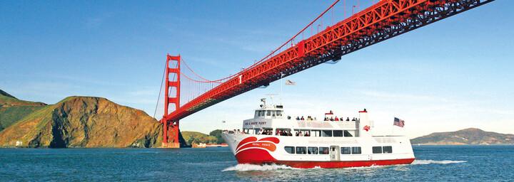 Bootstour Golden Gate Bridge