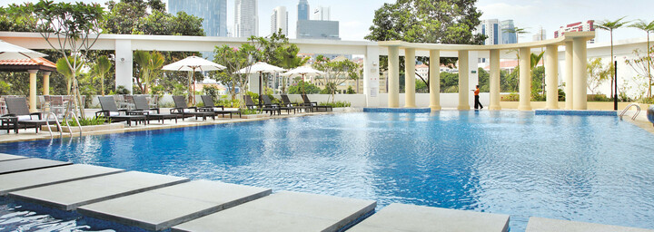 Pool des Park Hotel Clarke Quay