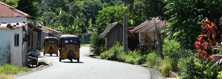 Madagaskar Reisebericht: Einheimische Taxis auf Madagaskar