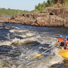 Kanadische Kanu Route