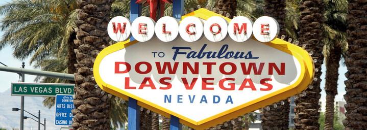 Ortsschild Las Vegas