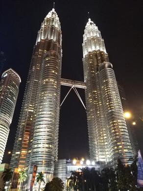 Malaysia Reisebericht: Petronas Twin Towers in Kuala Lumpur