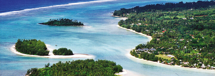 Luftaufnahme Pacific Resort Rarotonga
