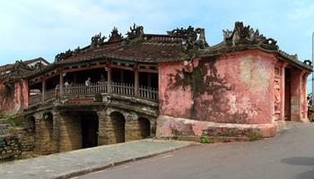 Reisebericht Vietnam - Japanische Brücke in Hoi An Wahrzeichen