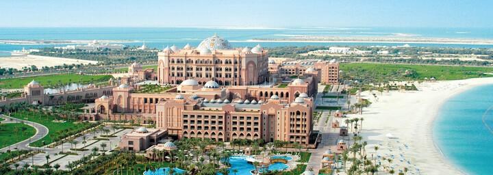 Aussenansicht Emirates Palace