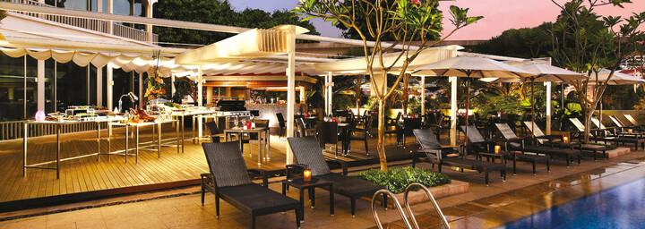 Cocobolo Bar des Park Hotels Clarke Quay