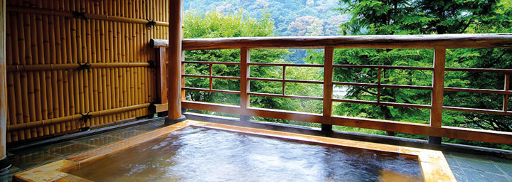 Onsen - Traditionell japanisches Bad