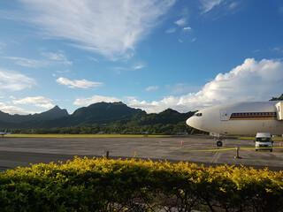 Cook Inseln Reisebericht - Rarotonga Airport
