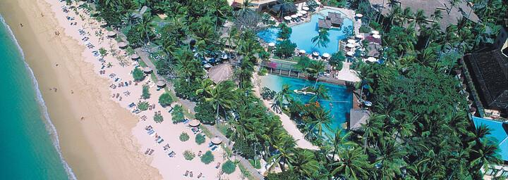 Nusa Dua Beach Hotel & Spa - Ansicht von oben