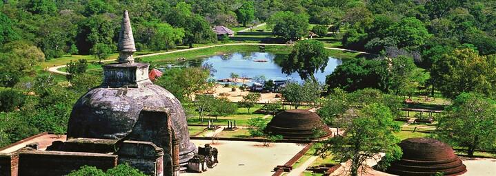 Altstadt von Polonnaruwa, Sri Lanka