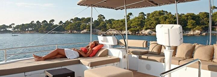 An Deck der Blue Lagoon 620