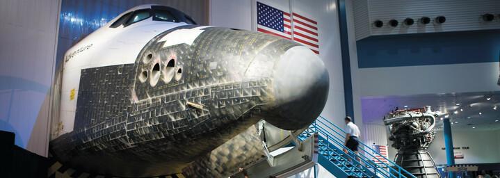 NASA Space Center in Houston Texas