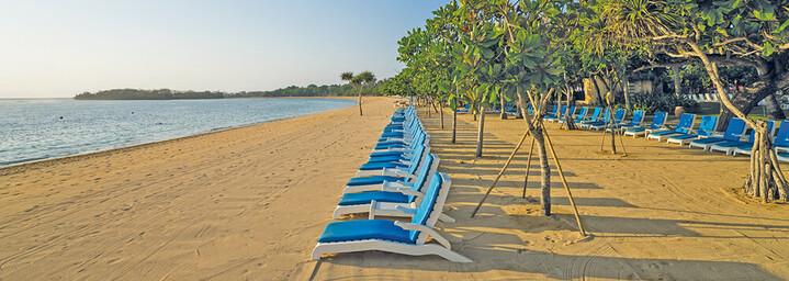 Strand des Nusa Dua Beach Hotel & Spa