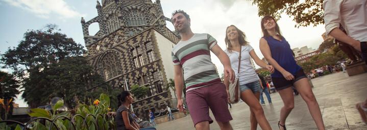 Plaza Botero in Medellín Kolumbien
