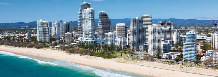 Skyline Gold Coast und Broadbeach