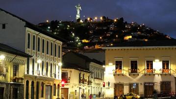 Ecuador Reisebericht - Quito bei Nacht