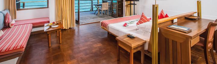 Beispiel Reethi Villa Reethi Beach Resort Baa Atoll