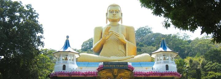 Goldener Tempel Dambulla, Sri Lanka