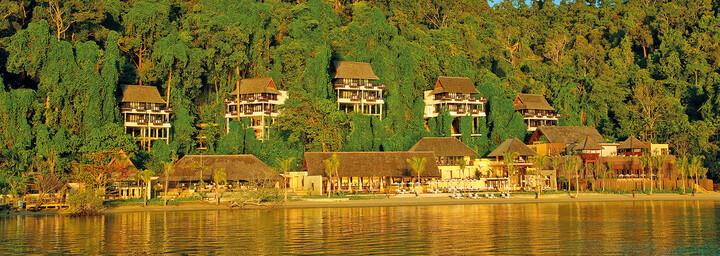 Außenansicht des Gaya Island Resort