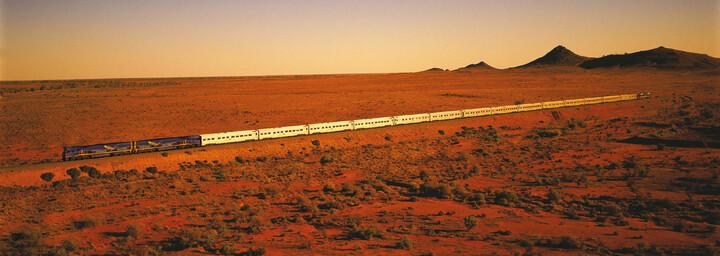 Indian Pacific Zugfahrt durch Australien´s Outback