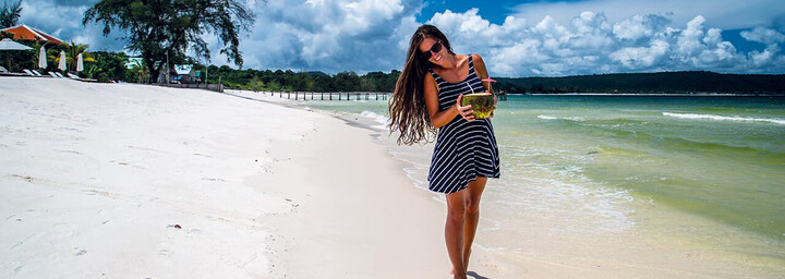 Sok San Beach Resort Koh Rong - Strand