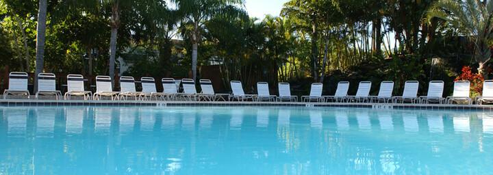 Pool bei Tag Appartmentanlage Park Shore Resort Naples
