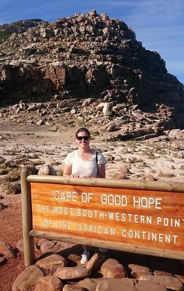 Südafrika Reisebericht: Reiseexpertin Sybille am Kap der Guten Hoffnung
