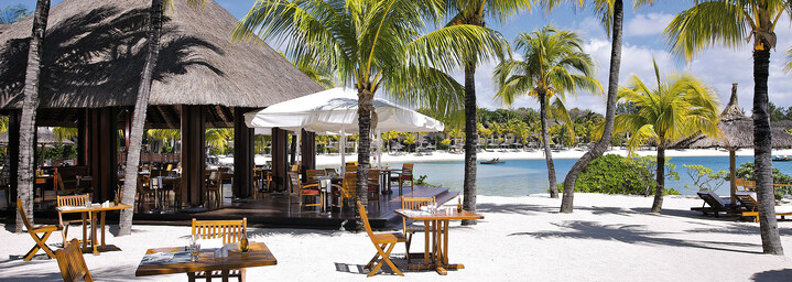 Shangri La's Le Touessrok Resort & Spa - Restaurant am Strand