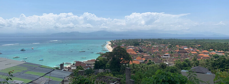 Reisebericht Bali Nusa Lembongan Aussicht