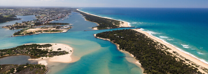 Lakes Entrances Australien