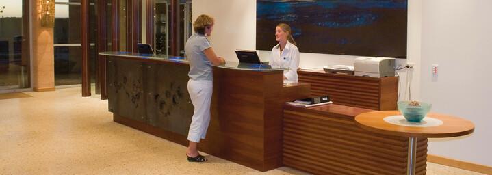 Rezeption Novotel Ningaloo Resort Exmouth