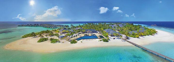 Amari Havodda Maldives - Luftaufnahme